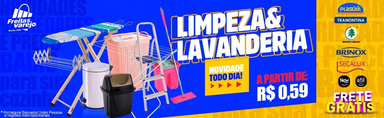 LIMPEZA E LAVANDERIA